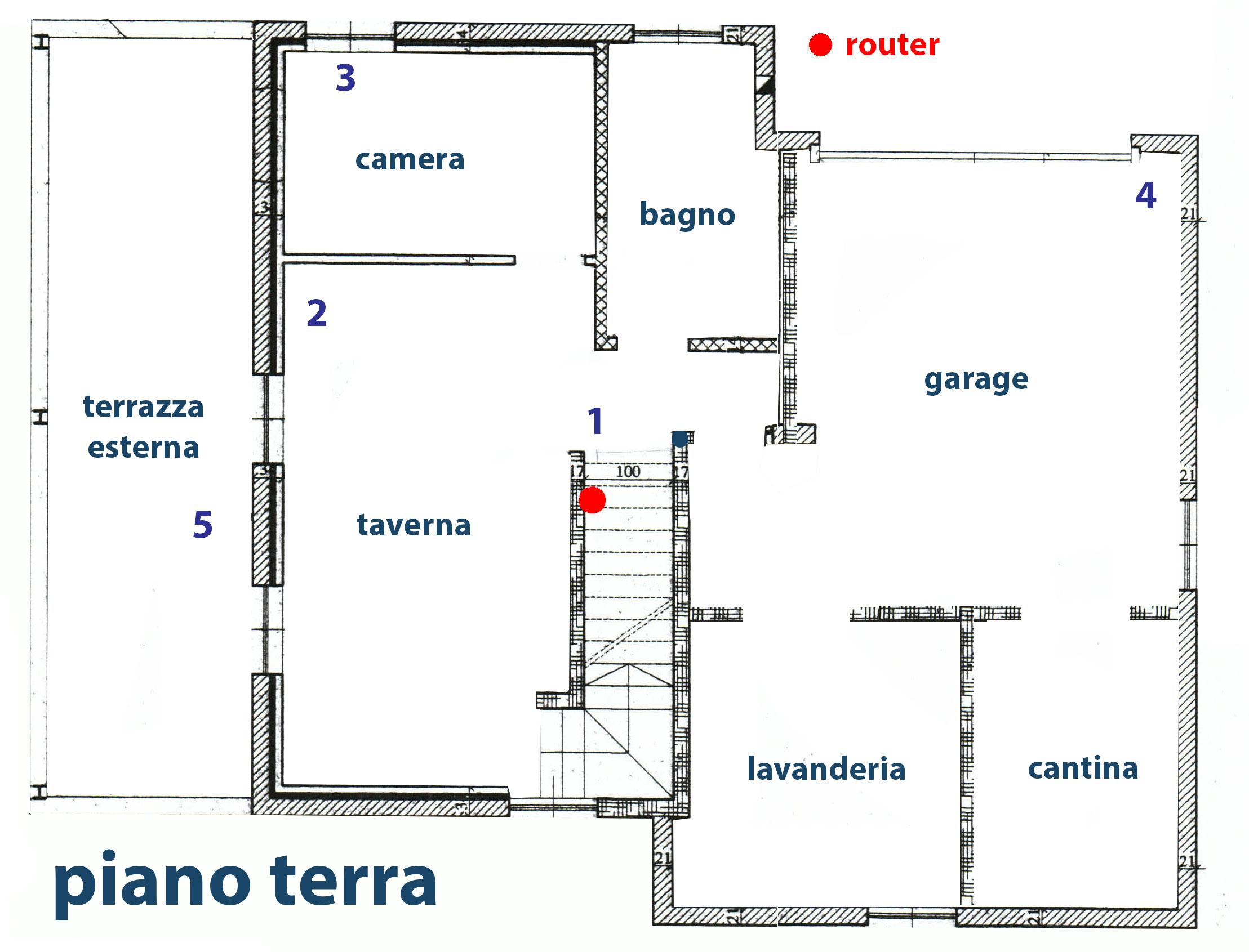 Comparativa tra wifi system alla ricerca della for Piano terra della casa