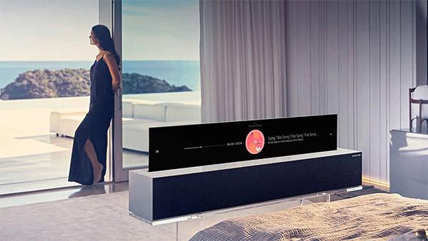 TV OLED LG Arrotolabile