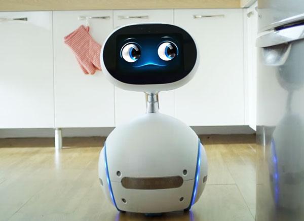 Ecco asus zenbo un robot da casa che costerà 599 00 dollari
